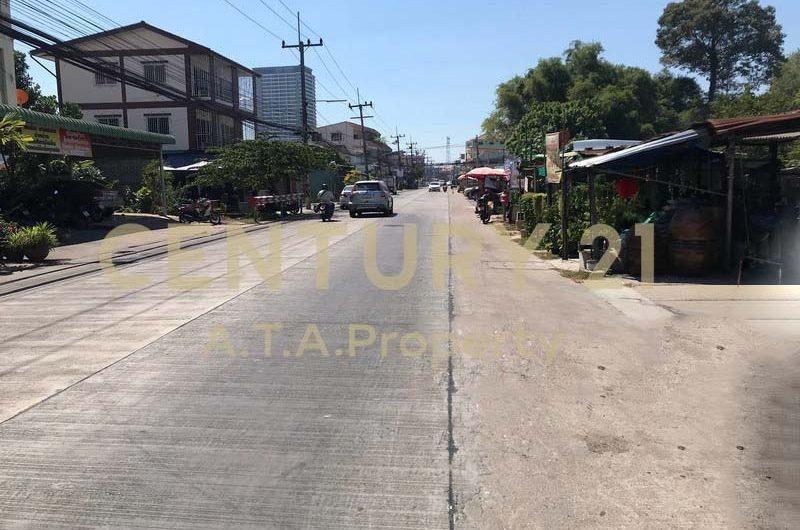 ขายที่ดิน 10 ไร่ ติดถนนซอยวังหิน ศรีราชา ชลบุรี