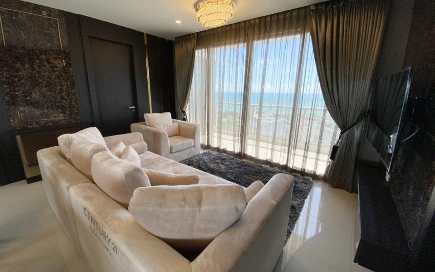 คอนโดหรู2ห้องนอนให้เช่าโครงการTheRevieraJomtien