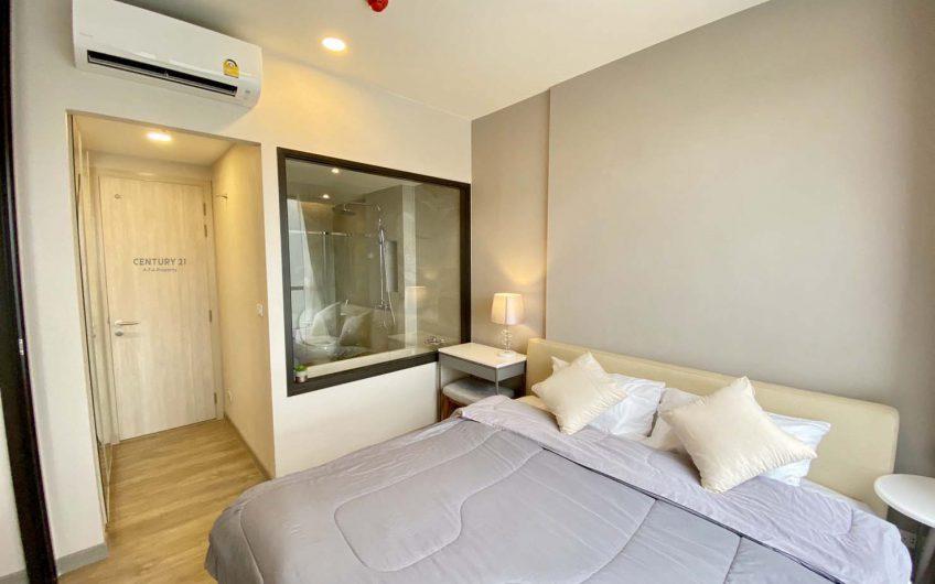 ให้เช่าคอนโด1ห้องนอนชั้นสูงโครงการใหม่Keen Centresriracha